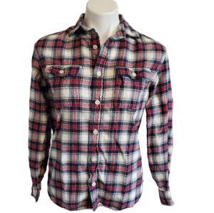 J. Crew Crewcuts > Plaid Flannel Shirt